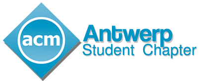 ACM Antwerp Student Chapter | University of Antwerp